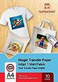 Repassez sur du papier transfert pour tissu léger de Raimarket | 10 feuilles |...