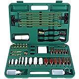 Sportneer Universal Gun Cleaning Kit for All Guns,Hunting Rifle, Shot Gun, Hand Gun, Pistols, Brass Jags Gun Cleaning Kit for All Guns with Carrying Case, 58 PCS
