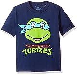 Nickelodeon Little Boys' Toddler Teenage Mutant Ninja Turtles Group T-Shirt, Navy, 3T