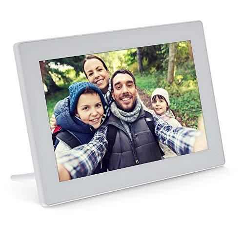 "InLine®, digitaler WiFi-Bilderrahmen WiFRAME, 10,1"""", 1280x800 16:9 LCD IPS Touchscreen, Frameo APP, weiß, 55821W"