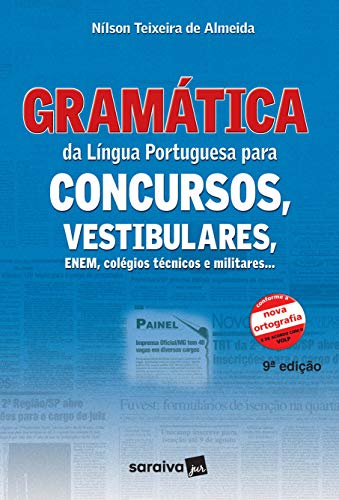 Portuguese grammar for competitions, entrance exams, ENEM, technical and military colleges