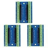 IZOKEE 3PCS Terminal Adaptateur Carte d'Extension pour Arduino Nano
