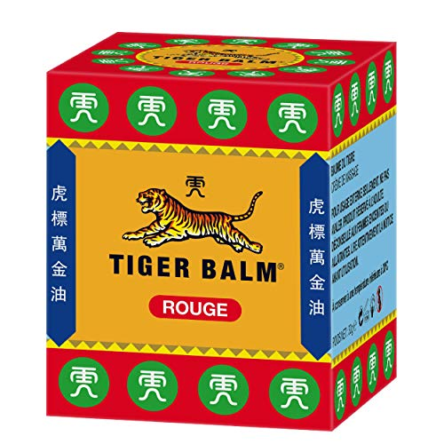 Bálsamo De Tigre 30g Rojo Super Fuerza Alivio De Dolor Crem