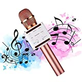 Microphone Karaoke Sans Fil, Womdee Professionnel Bluetooth Karaoké...