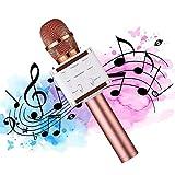 Microphone Karaoke Sans Fil, Womdee Professionnel Bluetooth Karaoké Microphone...