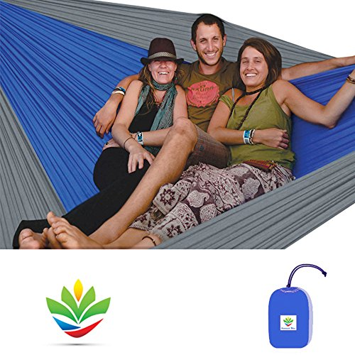 Hammock Bliss Triple - The Largest Portable Hammock on Planet...