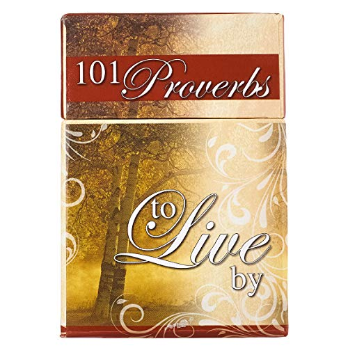 101 Proverbs to Live By, A Box of Blessings (Boxes of...