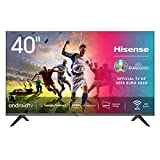 Hisense 40AE5600FA Smart TV Android, LED FULL HD 40', Design Slim, USB Media Player, Tuner DVB-T2/S2 HEVC Main10, Bluetooth