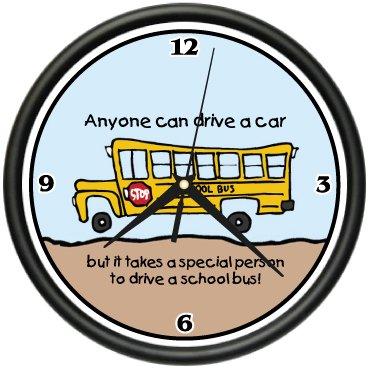 SignMission School Wall Clock Student Teacher New Gift,...