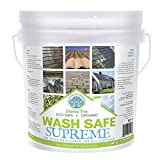 Wash Safe Industries SUPREME CLEAN Eco-Safe and All Natural Exterior Surface Cleaner, 10 lb Container