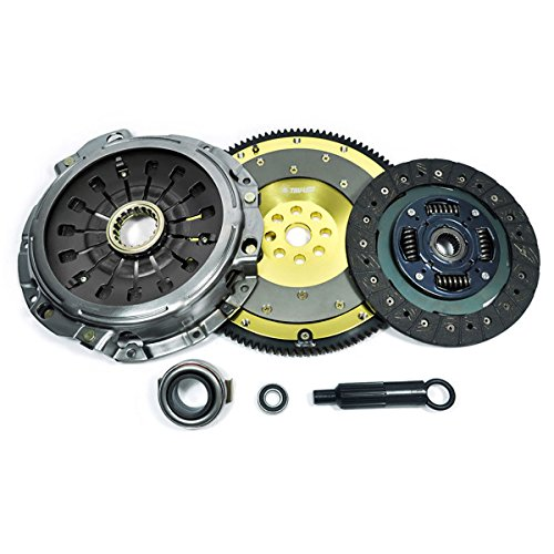 PPC HD CLUTCH KIT+ALUMINUM RACING FLYWHEEL WORKS WITH 00-05 ECLIPSE GT GTS SPYDER 3.0L SOHC