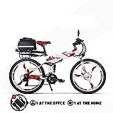 RICH BIT RT860 Vélo Électrique 250W*36V*12.8Ah Vélo Pliant Shimano 21...