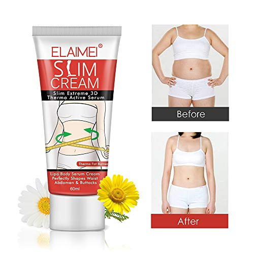 Hot Cream (2 Pack), Professional Cellulite Slimming & Firming Cream, Body Fat Burning Massage Gel, Slim Serum for Shaping Waist, Abdomen and Buttocks 5