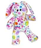 Cuddly Soft 8 inch Stuffed Flower Bunny...We Stuff 'em...You Love 'em!