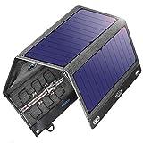 VITCOCO Portable Chargeur Solaire, 29W Chargeur Panneau Solaire Pliable 2 USB Ports Imperméable...