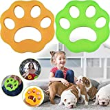 NEIJIANG Pet Hair Remover for Laundry,Dogs and Cats Hair Catcher for Washing Machine,Non-Toxic Safety Reusable Floating Pet Fur Catcher,The Laundry Lint and Fur Remover-2 Pcs