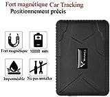TKSTAR GPS tracker voiture traceur gps traqueur temps de veille 120 jours localisateur GPS Traceur...