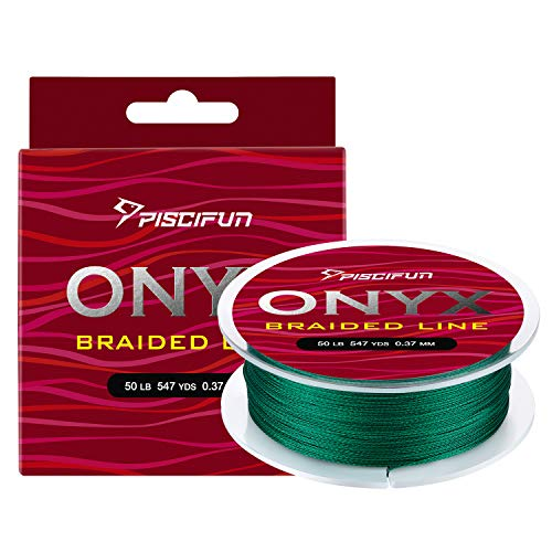 Piscifun Onyx Braided Fishing Line Advanced Superline Braid...
