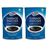 Glisten DP06N-PB Garbage Disposer Foaming Cleaner, Lemon Scent, 2-Pack (8 Uses), 2 Pack, Blue, 9 Ounce