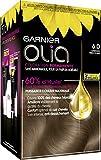 Garnier 6.0 Châtain très clair, Coloration permanente, Sans ammoniaque -...