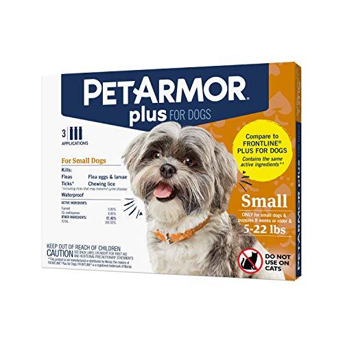 PETARMOR Plus for Dogs Flea and Tick Prevention...