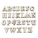 200PCS En Bois 0-9 Chiffres Et A-Z Lettres En Bois DIY Jouets...