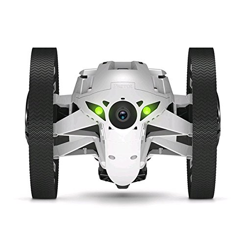 Dok Phone Drone Wi-Fi con telecamera integrata Jumping Sumo Bianco