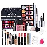 Maquillaje Set, 27 Piezas Juegos de Regalo de Maquillaje,Juego de Maquillaje Kit de Maquillaje para Mujeres y Niñas Caja de Regalo Cosméticos