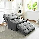 Vonanda Sofa Bed, Convertible Chair 4 in 1 Multi-Function Folding...