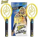 ZAP IT! Paquet de Deux Bug Zapper – Rechargeable Mosquito, Tapette/Killer et Bug Zapper Raquette...