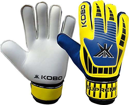 Kobo Football/Soccer Goal Keeper Training Gloves (6.5)