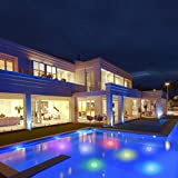 Floating Pool Lights 1PK, LED Color-Changing Underwater Pool Lights That Float, 100% Waterproof Starfish Lamp, Lighting Décor for Inground or Above Ground Swimming Pools, Fountain, Pond, Spa, Hot Tub