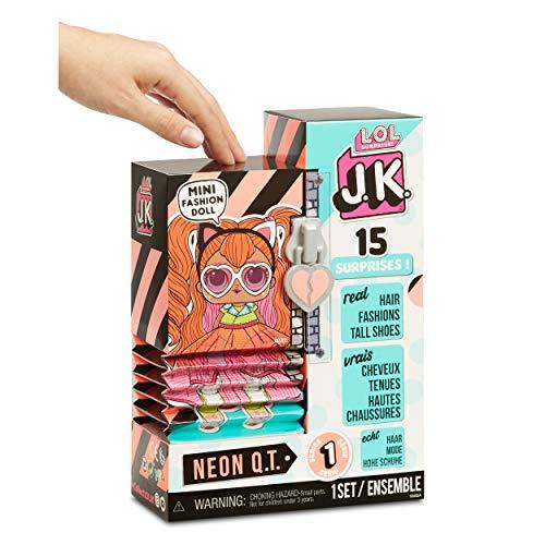 Image 2 - LOL Surprise Mini Poupées Mannequin JK - 15 Surprises, Vêtements et Accessoires - À Collectionner - Neon Q.T.