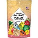 LAFEBER'S Premium Tropical Fruit Pellets Pet Bird Food, Made with Non-GMO and Human-Grade Ingredients, for Parakeets, 1.25 lbs