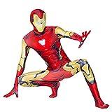 MODRYER Costume Iron Man Avengers Spider-man Cosplay Combinaison de super-héros...