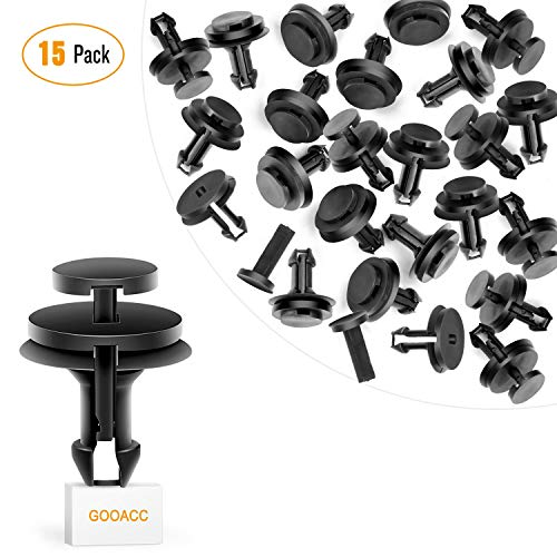 GOOACC Front Air Deflector Retainers Clips 15733971 for GM Chevrolet 15733971- 15PCS