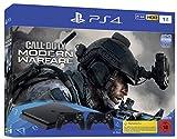 Inhalt: PlayStation 4-Slim 1TB, Call of Duty - Moden Warfare auf Blue Ray Disc, zwei DUALSHOCK4 Wireless-Controller, Mono-Headset, HDMI-Kabel, Netzkabel, USB-Kabel und Bedienungsanleitung