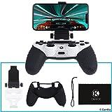 CAMKIX Support de téléphone et Silicone pour contrôleur PS4 - Idéal pour PS4...