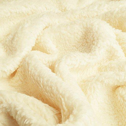Paula - Plüsch Stoff aus reiner Bio-Baumwolle - Meterware
