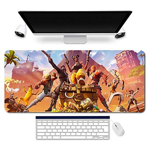 996250 Fortnite Alfombrilla de ratón, Fortnite Alfombrilla para ratón, Fortnite Alfombrilla para juegos, tamaño grande de ratón óptico lavable (35.4 × 15.7 pulgadas/900 x 400 mm)