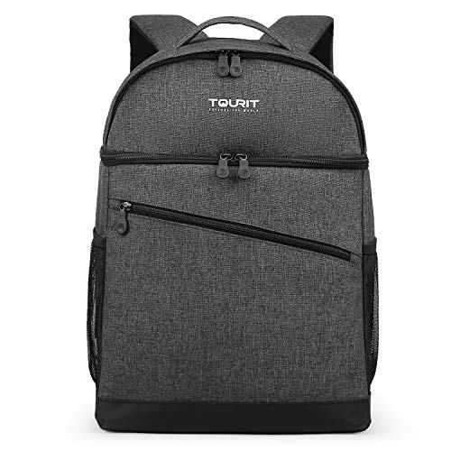 TOURIT Sac à Dos Isotherme Sac Isotherme 28 Canettes Sac à Dos Thermo 28L...