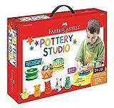 Faber-Castell Do Art Pottery Studio, Pottery Wheel Kit for Kids