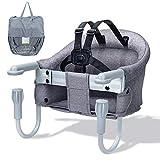 Orzbow Chaise Haute pour Bébé, Siège de Table pour Bébé Portable rehausseur...