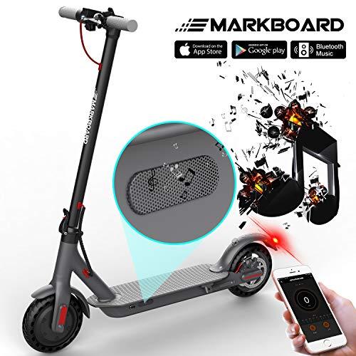 MARKBOARD Elektro Scooter Elektroroller Faltbar Cityroller Zusammenklappbarer Cityscooter - 7,5Ah - LED-Scheinwerfer