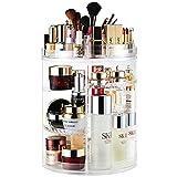 AMEITECH Organizador del Maquillaje, 360 Grados Que Giran la Joyería Ajustable y el Soporte de...