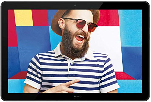 Huawei Mediapad T5 10 Wi-Fi Tablet con Display da 10.1', IPS, 1080p Full HD, Processore Octa-Core, Memoria RAM da 2 GB, Memoria Interna da 32 GB, Andorid 8.0, EMUI 8.0, Nero, Versione 2021