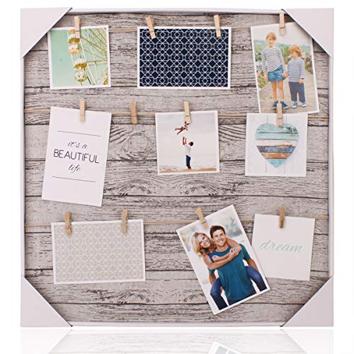 HANTAJANSS Clip Photo Holder, Photo Collage Frame, Large Picture...