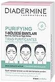 Diadermine - Tiras Purificantes, 6 tiras, para pieles normales y mixta, Elimina...