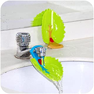 Yonisun Faucet Cover, Leaf Design Safety Faucet Extender For Children Toddler Kids Hand..