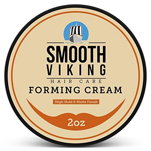 Hair Cream - Mens Hair Gel for Matte Finish & High Hold (2 Ounces) -...